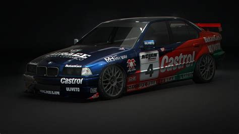 BMW 320i STW 1998 for AC – Texturing Preview – VirtualR