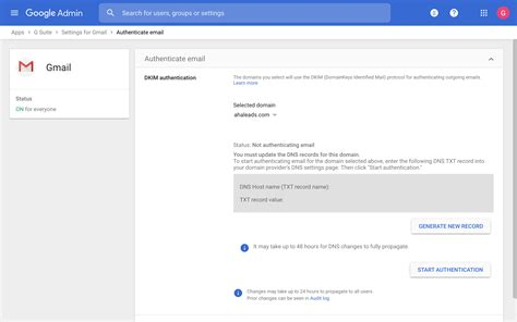 SPF/DKIM/DMARC Setup Guide for G Suite (Gmail for Business