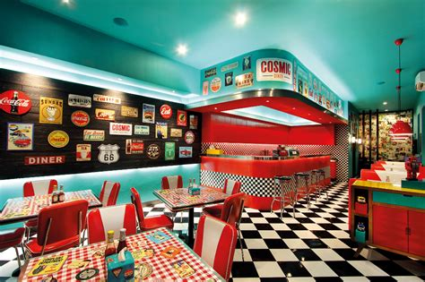 Cosmic Diner: 60's New York City on Sunset Road - NOW! Bali