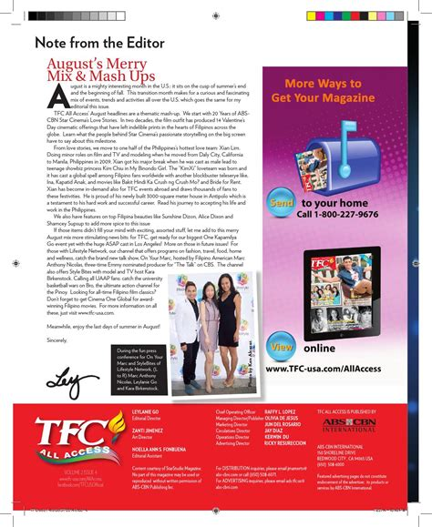 TFC All Access Vol 2 Issue 4 by TFC ALL ACCESS - Issuu