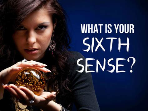 What is Your Sixth Sense? | Playbuzz