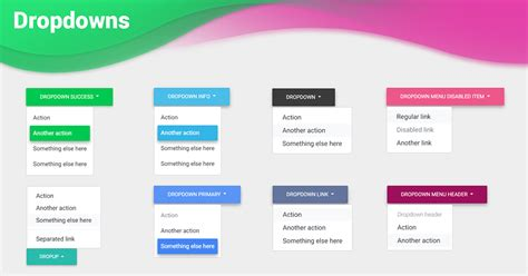 Bootstrap Dropdown - examples & tutorial