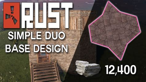 Expandable and Simple Rust Duo Base Design (NO BLUEPRINTS