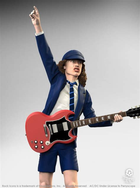 AC/DC Angus Young II Rock Iconz Statue 21 cm jetzt online