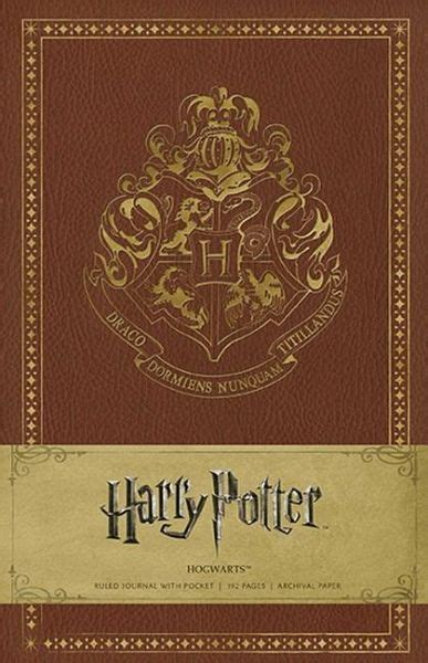 Harry Potter Hogwarts Hardcover Ruled Journal - englisches