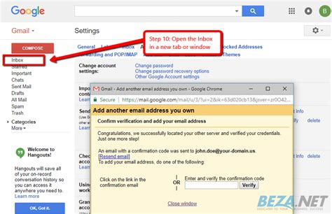 Setup Your Email in Google Gmail | BEZA