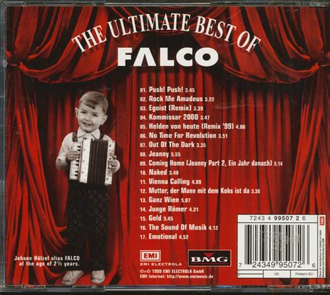 Falco CD: The Final Curtain - The Ultimate Best Of Falco